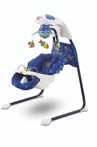 Fisher-Price Fisher-Price H7184 Baby Gear - Meeresfreunde Babyschaukel