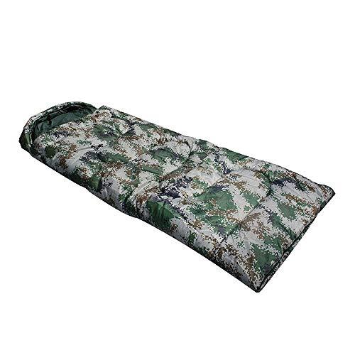 Hangzhouxichamaoyiyouxiangongsi Leichte tragbare Digital Camouflage Gepolsterter Schlafsack Outdoor Camping Erwachsener Schlafsack Camping Warme Spleißen Warmer Schlafsack Outdoor-Aktivitäten