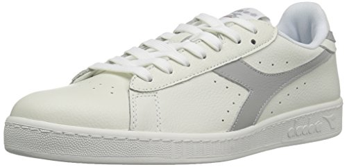 Diadora Unisex-Erwachsene Game L Low Waxed Pumps, 36 EU Weiß