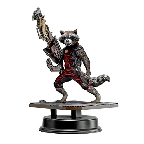 Dragon Models - Dm38143 - Figurine Cinéma - Rocket Racoon Red Costume - Action Vignette - Echelle 1/9