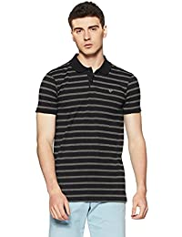 Ruggers Men's Striped Regular Fit T-Shirt