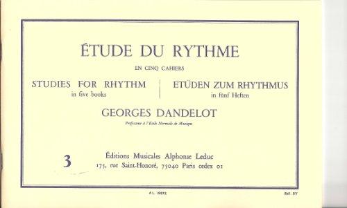 étude du rythme vol 3 - Leduc par Georges Dandelot