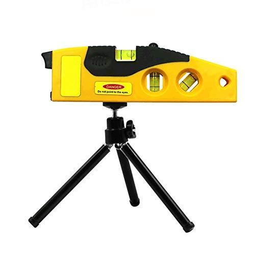 UCTOP STORE Line-Messwerkzeug mit Stativ, Rotationslaser-Werkzeug, Punkt-Kreuzlinien-Laser-Wasserwaage, Holzbearbeitung-Mess-Ausrichtungs-Werkzeug