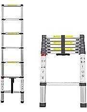 Corvids Portable & Compact Aluminium Telescopic Ladder, EN131 Certified