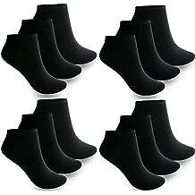 ANGEBOT 12 Paar Weiß 43 46 Herren Sneaker Socken 85 /% Baumwolle 43 44 45 46