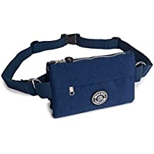 Dreambox Women's Waist Bag Multifunction Lightweight Fanny Pack Adjustable Belt Bag