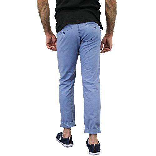 Herren Chino Jeans Huston Harbour Kushiro City Hosen Klassische Bequeme Passform Sommer Infinity - 1174ANGARA