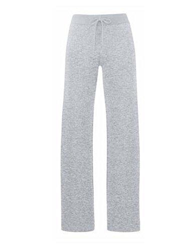 Lady Fit Jog Pants | Damen Jogginghose Farbe graumeliert Größe XS