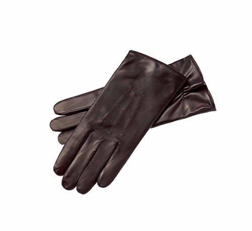 Roeckl Herren Handschuhe Klassiker Wolle Gr. 8.5 (Herstellergröße: 8.5) Braun (mocca 790) Leder-handschuhe Herren Braun
