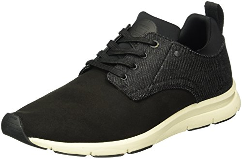 G-STAR RAW Aver, Baskets Basses Homme Noir (black 990)