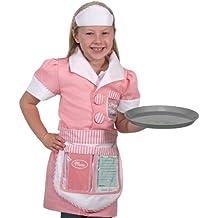 Melissa & Doug - Disfraz de camarera para niños (14787)
