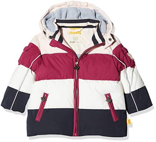 Steiff Baby - Mädchen Anorak Jacke, per Pack Rot (Anemone red 2144), 80 (Herstellergröße: 80)