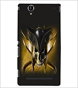 PrintDhaba Pirate's Skull D-1057 Back Case Cover for SONY XPERIA T2 ULTRA (Multi-Coloured)