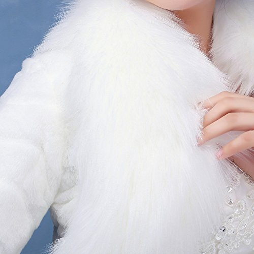 KA Beauty - Châle - Femme Ivory2