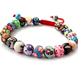 Perles Fimo Mala bouddhiste Bracelet