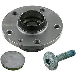 febi bilstein 23320 Wheel Bearing Kit with wheel hub, drive shaft screw and dust cap, pack of one