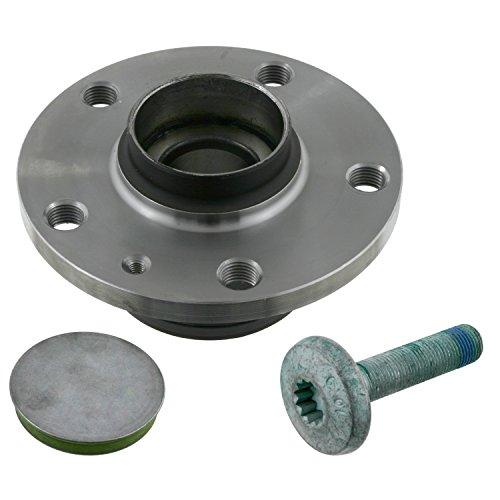 febi bilstein 23320 Radlagersatz mit Schraube und Schutzkappe (Hinterachse beidseitig) Radlager, 1 Stück