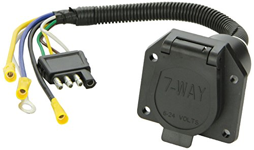 Tow Ready 20321 4-Flat To 7-Way Flat Pin Connector Adapter