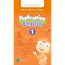 Poptropica English Level 1 Teacher's Online Game Access Card for pack