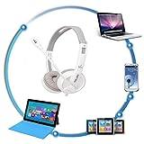 Liquidación ¡Venta Caliente! Auriculares portátiles Cebbay1.8m Estéreo Bass Stereo para iPhone iPad Mac PC MP3 WH (Blanco)