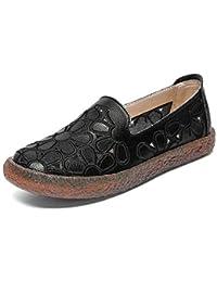 YXX-Zapatos para mujer Zapatillas sin Cordones con Mocasines con Corte Recortado para Mujer,
