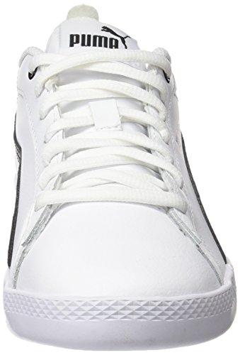 L V2 White Puma Scarpe Bianco Donna Basse Ginnastica Smash Wns Da tqwC4wE