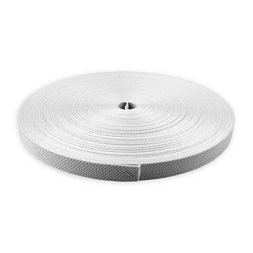 Preisvergleich Produktbild DIWARO® Spezial-Rolladengurt (PES) | Gurtbreite 22 mm | Polyester | 50 m Rolle | Farbe: grau