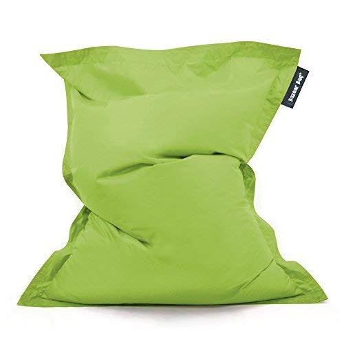 Bean Bag Bazaar Bazaar Bag - Verde Lima, 180cm x 140cm, Puf Gigante para Interiores y Exteriores – Puff Enorme, Ideal para usar en el Hogar y el Jardín