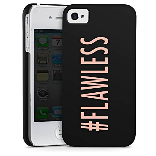 Apple iPhone 7 Hülle Premium Case Cover Flawless Beyonce Hashtag Premium Case glänzend