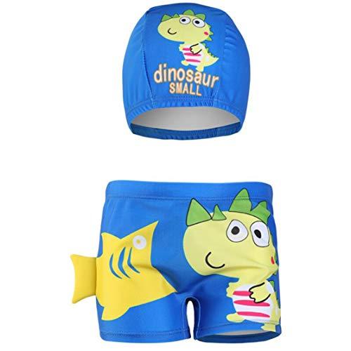 0a1b8e226451 mama stadt Pantaloncini Piscina Bambino Costume da Bagno Shorts del  Dinosauro 3D con Cuffia da Bagno