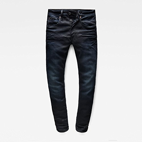 G-STAR Herren 3301 Slim Jeans Blue (Dark Aged 51001.5245)