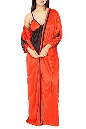 Fashigo-Womens-2-Piece-Satin-Nighty-Free-Size