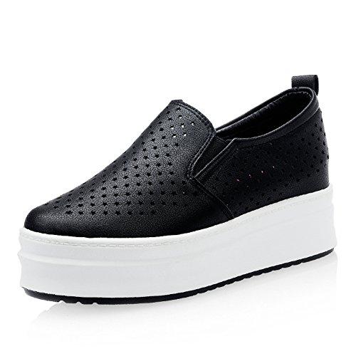 Shoes star hollow en été/Chaussures plateforme/Chaussure respirante haute féminin/Chaussures à semelles épaisses/Flâneur/Chaussures de loisirs coréen B