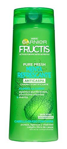 Garnier Fructis Pure Fresh Menta Refrecante Champú