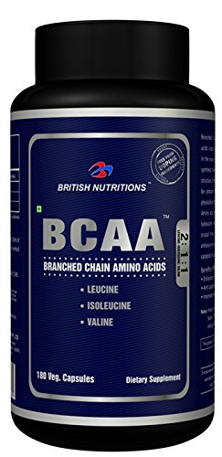 British Nutrition Branched Chain Amino Acid - 180 capsules  available at amazon for Rs.1405