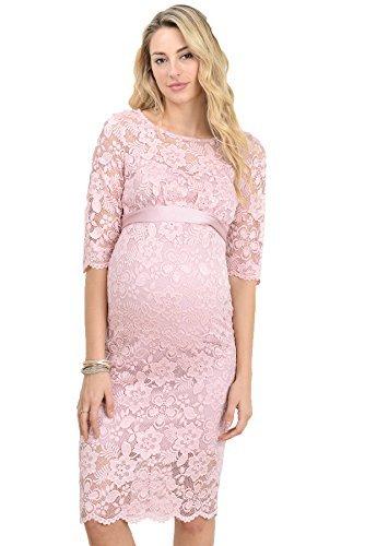 Hello miz vestito premaman per donne piccolo rosa