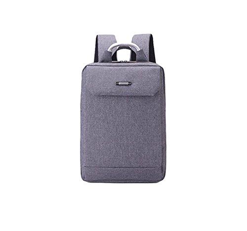 Umhängetasche Geschäft Paket Computer Tasche Rucksack Reise Paket Freizeit Einfache Wilde Große Kapazität Grey