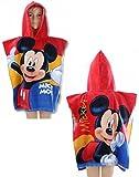 Disney Mickey Maus 'Fun' 100% Baumwolle Poncho Handtuch