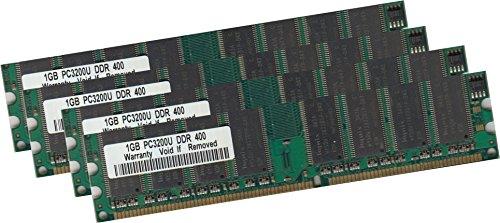 Pc-3200 Dual-channel-speicher (4Gb 4x 1Gb 400 MHz Speicher Ram für PC, Desktop Systeme PC-3200 184pin)
