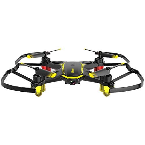 GTYW Drone con videocamera Live Video Quadricottero FPV WiFi con Telecamera grandangolare HD 480P Drone Pieghevole Altezza RTF detiene Il Controllo App 3D a Vibrazione,Lithium Battery-OneSize