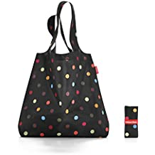 Reisenthel AT7009 Mini Maxi Shopper Dots, Polyester, schwarz, 60 x 7 cm