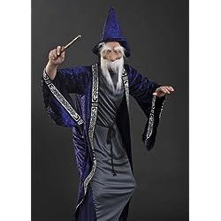 Disfraz de mago Dumbledore, para hombre.