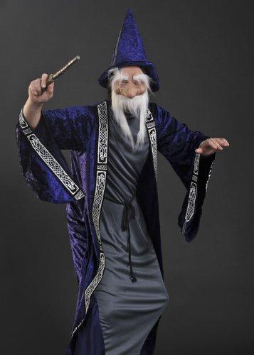 Erwachsene Dumbledore Style Assistent Kostüm (Erwachsenen Assistent Kostüme)