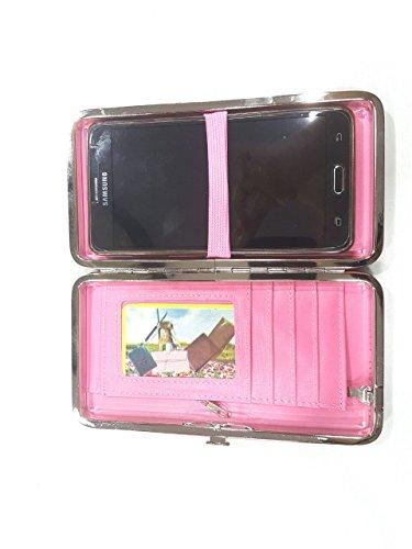 Rajstore Women/Ladies Mobile Wallet Smart Design (Black)