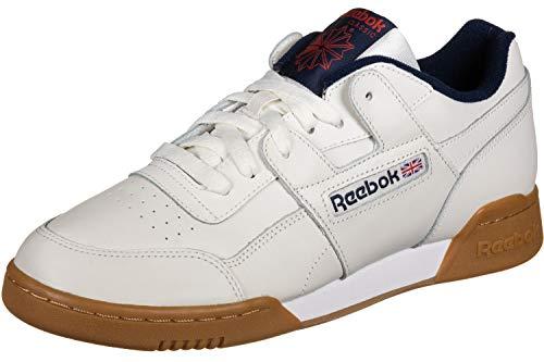 Reebok Workout Plus MU Schuhe Chalk/Collegiate Navy/red