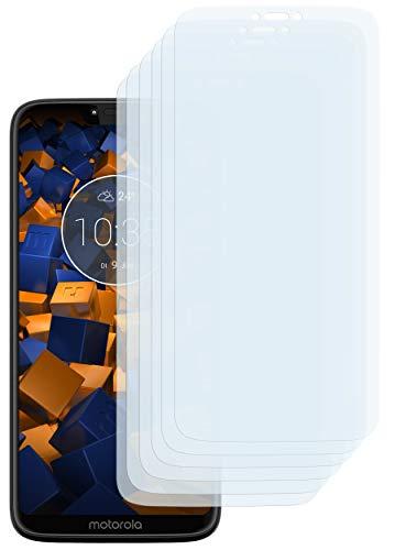 mumbi Schutzfolie kompatibel mit Motorola Moto G7 Power Folie klar, Displayschutzfolie (6X) (Matt Displayschutzfolie E Moto)
