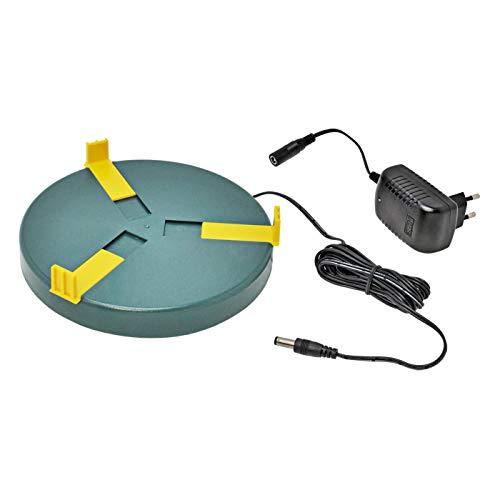 Heizplatte für Tränkenwärmer Tränkenheizung , 20cm, inkl. Netzteil 24V/ 12W - 3
