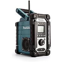 Makita DMR107 Radio Portable Worksite Noir, Turquoise - Radios Portables (Worksite, AM,FM, 87,5-108 MHz, 522-1,629 kHz, 7 W, Noir, Turquoise)