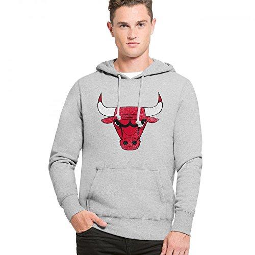 '47 Brand Chicago Bulls Knockaround Hoodie NBA Sweatshirt S