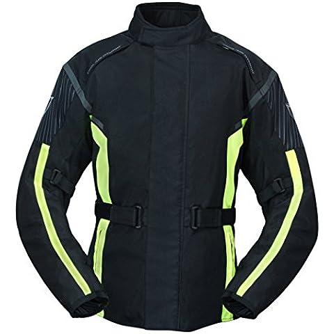Moto Chaqueta orina textil Touren Allwetter–Chaqueta térmica y de malla extraíble